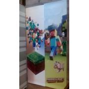 Наклейка Minecraft на шкаф