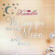 We love you to the moon
