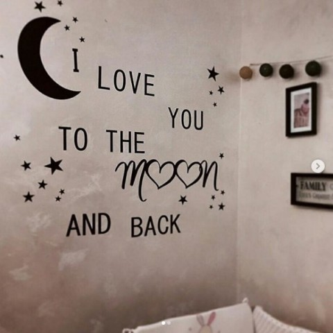 We love you to the moon...