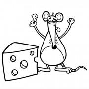 Довольная мышь