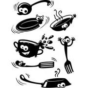 Веселая посуда